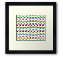 Colors Rectangle #1 Framed Print