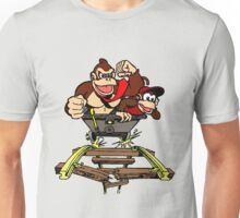DK & Diddy - Mine Cart Madness Unisex T-Shirt