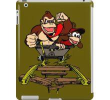 DK & Diddy - Mine Cart Madness iPad Case/Skin