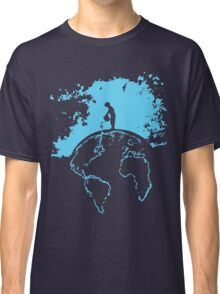 Water Planet Global warming world ocean nature Graphic  Classic T-Shirt