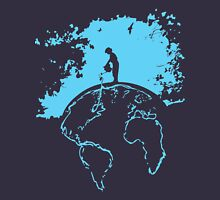 Water Planet Global warming world ocean nature Graphic  Unisex T-Shirt