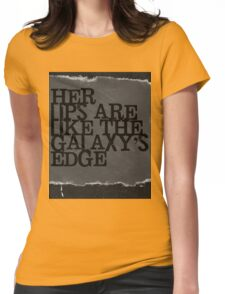 """""""Her Lips..."""" Womens Fitted T-Shirt"""