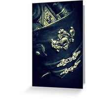 Steampunk Holster 1.2 Greeting Card