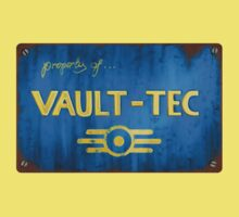 Metal Vault Sign One Piece - Short Sleeve