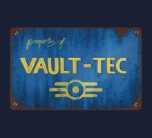 Metal Vault Sign Kids Tee