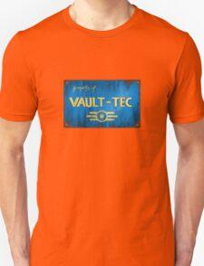 Metal Vault Sign Unisex T-Shirt
