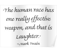 Really Effective Laughter Poster