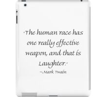 Really Effective Laughter iPad Case/Skin