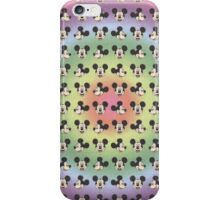 micky mouse blotter iPhone Case/Skin