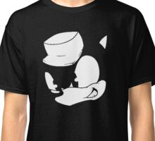 Clever Sonic (Black and White) Classic T-Shirt