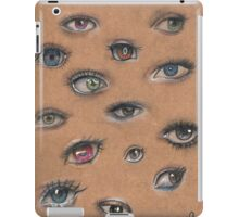 A Collage of Eyes iPad Case/Skin