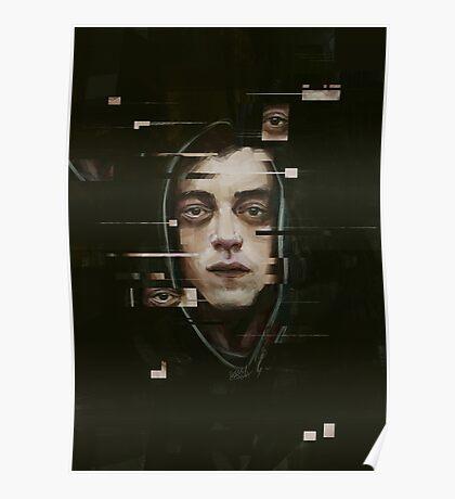 Mr. Robot (Elliot) Poster