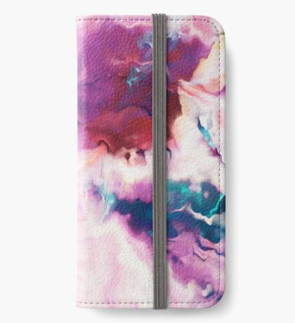 The Absent Minded Artist #redbubble #lifestyle iPhone Wallet