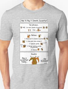 How To Hug A Climate Scientist T-Shirt