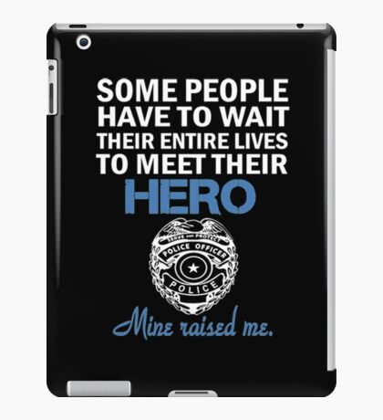 Police Officers Mom iPad Case/Skin