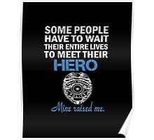 Police Officers Mom Poster