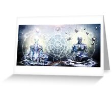 Experience So Lucid, Discovery So Clear Greeting Card