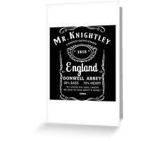 Mr. Knightley Whiskey Greeting Card