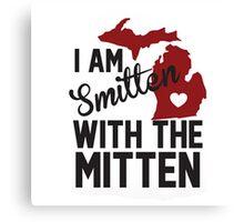 Smitten with the Mitten Canvas Print