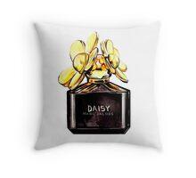 Daisy Gold Throw Pillow