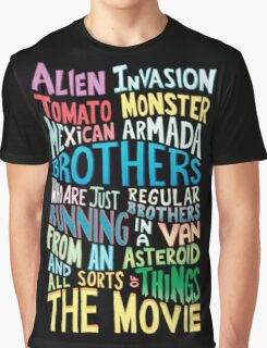 Rick and Morty Two Brothers Graphic T-Shirt