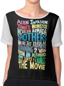 Rick and Morty Two Brothers Chiffon Top