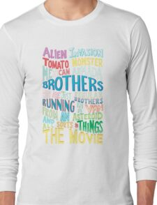 Rick and Morty Two Brothers Long Sleeve T-Shirt