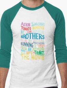 Rick and Morty Two Brothers Men's Baseball ¾ T-Shirt