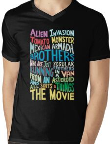 Rick and Morty Two Brothers Mens V-Neck T-Shirt