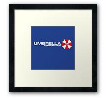 umbrella corp Framed Print