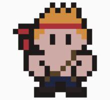 Pixel Bill Rizer Baby Tee