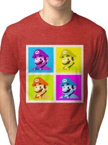 Worholian Game God Tri-blend T-Shirt