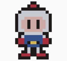 Pixel Bomberman Kids Tee