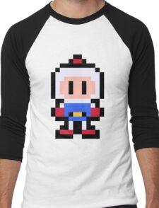 Pixel Bomberman Men's Baseball ¾ T-Shirt