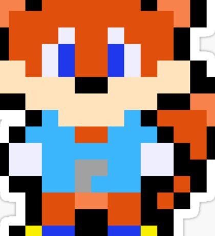 Pixel Conker Sticker
