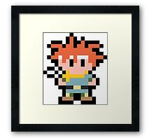 Pixel Crono Framed Print