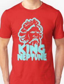 King Neptune Head - Blue T-Shirt