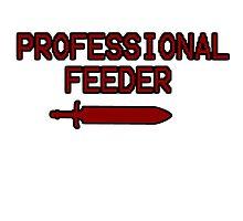 Professional Feeder T-Shirt by ThePunk