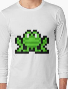 Pixel Frogger Long Sleeve T-Shirt