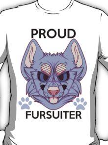 Proud Fursuiter T-shirt (REMADE) T-Shirt