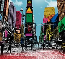times square by motiashkar