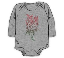 Roses One Piece - Long Sleeve