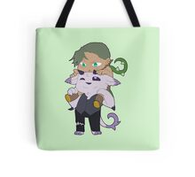 Flora and Butch Tote Bag
