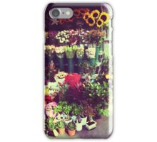 Flower Stall iPhone Case/Skin