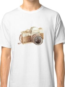 watercolor camera Classic T-Shirt