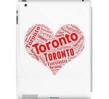 Toronto - Red Heart iPad Case/Skin