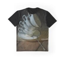 Still life with tea cups set Graphic T-Shirt