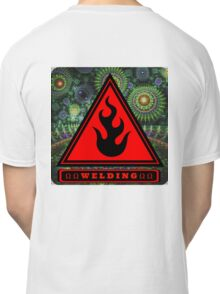 Ω Welding Fire Triangle Ω Classic T-Shirt