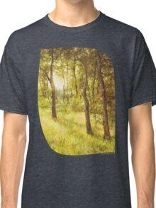 Sun Embraced Trees Classic T-Shirt