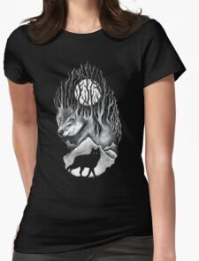 Wild Winter Nights Womens Fitted T-Shirt